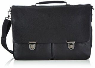 Strellson Garret Briefbag L Aktentasche, Schwarz