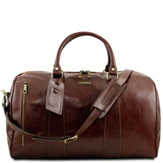 Tuscany Leather TL Voyager Reisetasche Groß, Braun