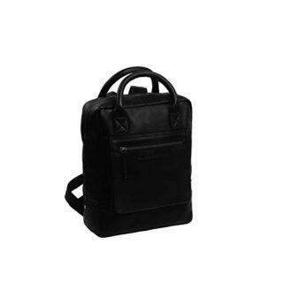 The Chesterfield Brand Davon Laptop-Rucksack, Schwarz
