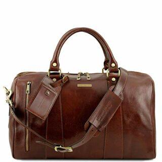 Tuscany Leather TL Voyager Reisetasche Klein, Braun