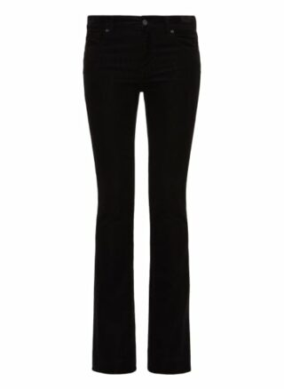 7 For All Mankind Bootcut Bootcut Fit Chino-Jeans Damen, Schwarz
