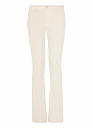 7 For All Mankind Bootcut Bootcut Fit Chino-Jeans Damen, Weiß