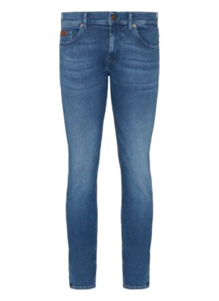 7 For All Mankind Ronnie Eco Regular Fit Jeans Herren, Blau