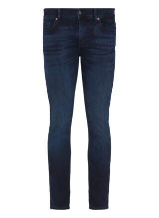 7 For All Mankind Ronnie Regular Fit Jeans Herren, Blau