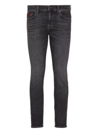 7 For All Mankind Ronnie Regular Fit Jeans Herren, Grau