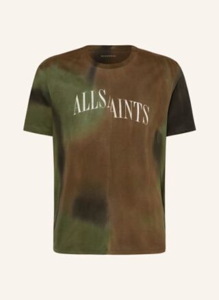 ALL SAINTS Camo Dropout T-Shirt Herren, Grün