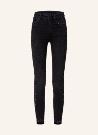ALL SAINTS Miller 7/8 Skinny Jeans Damen, Schwarz