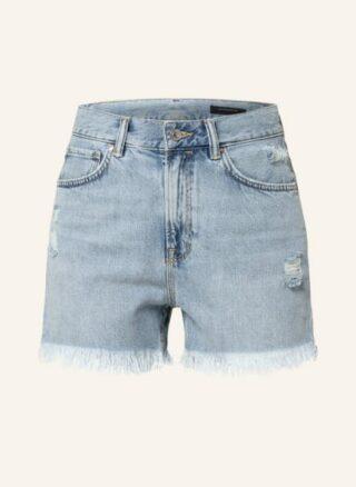 ALL SAINTS Yanni Jeans-Shorts Damen, Blau