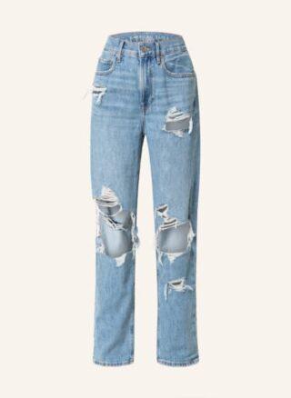 AMERICAN EAGLE Boyfriend Jeans Damen, Blau