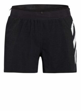 Adidas Agravic Pro Trail Shorts Herren, Schwarz
