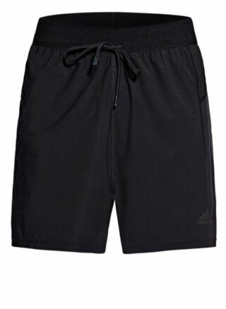 Adidas Warp Knit Shorts Herren, Schwarz