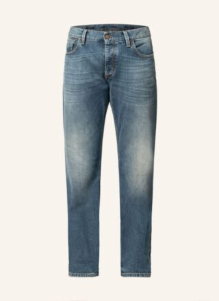Alberto Slipe Tapered Jeans Herren, Blau