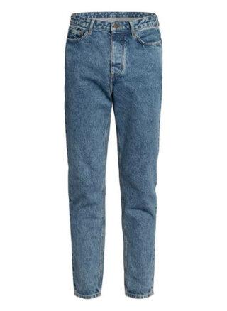 American vintage Basic Tapered Jeans Herren, Blau