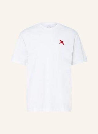 Axel Arigato Rogue Bee Bird Oversized-Shirt Herren, Weiß