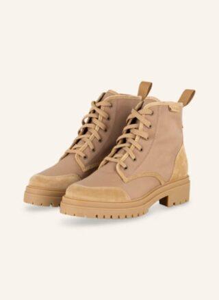 BA&SH Canastra Desert-Boots Damen, Beige