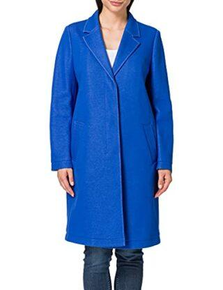 BOSS Ocomfy Wollmantel Damen, Blau