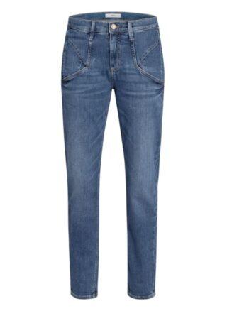 BRAX Merrit Slim Fit Jeans Damen, Blau