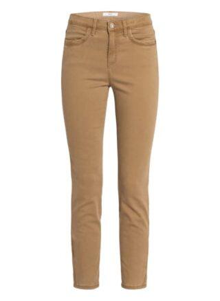 BRAX Shakira 7/8 Skinny Jeans Damen, Braun