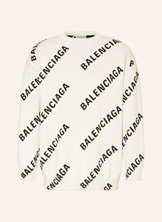 Balenciaga Cashmere-Pullover Herren, Weiß