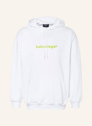 Balenciaga Oversized-Hoodie Herren, Weiß