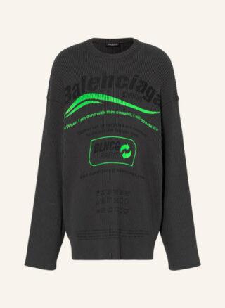 Balenciaga Oversized-Pullover Herren, Grau