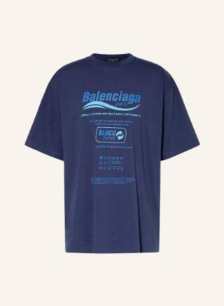 Balenciaga Oversized-Shirt Herren, Blau