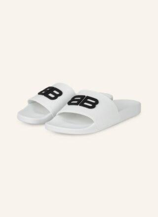 Balenciaga Pantoletten Herren, Weiß