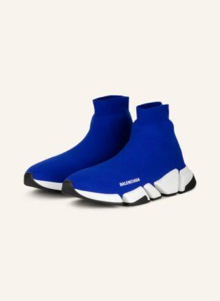 Balenciaga Speed 2.0 Hightop-Sneaker Herren, Blau