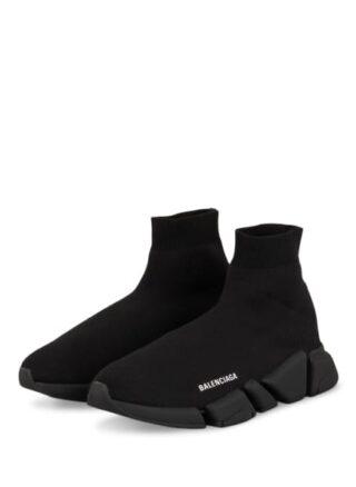 Balenciaga Speed 2.0 Hightop-Sneaker Herren, Schwarz