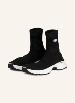 Balenciaga Speed 3.0 Hightop-Sneaker Herren, Schwarz