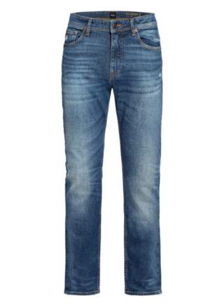 Boss Delaware Slim Fit Jeans Herren, Blau