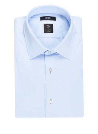 Boss Hank Jerseyhemd Herren, Blau