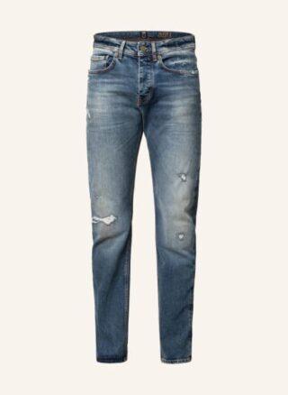 Boss Jeans Taber Tapered Jeans Herren, Blau