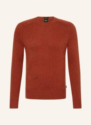 Boss Nolive Cashmere-Pullover Herren, Rot
