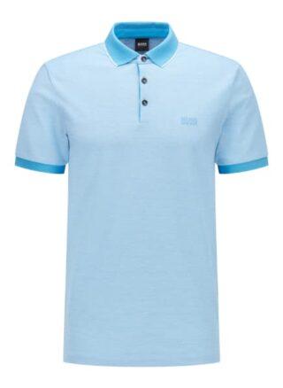 Boss Prout 28 Poloshirt Herren, Blau