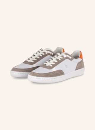 Boss Ribeira Tenn Sneaker Herren, Weiß