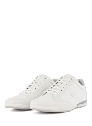 Boss Saturn Lowp Nyst Sneaker Herren, Weiß