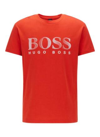 Boss T Shirt Rn T-Shirt Herren, Orange