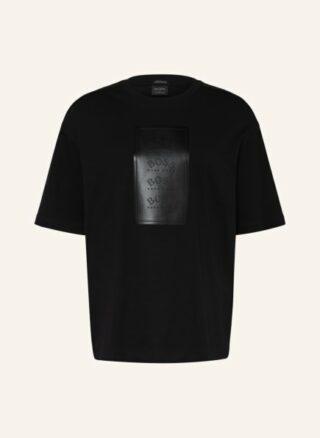 Boss Talboa Oversized-Shirt Herren, Schwarz
