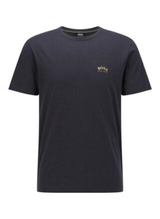 Boss Tee Curved T-Shirt Herren, Blau