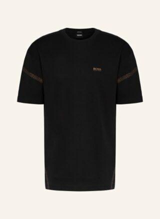 Boss Tee Pixel T-Shirt Herren, Schwarz