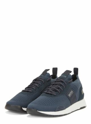 Boss Titanium Runn knst1 Sneaker Herren, Blau