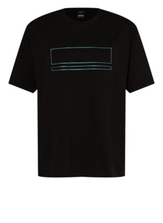 Boss Tover Oversized-Shirt Herren, Schwarz