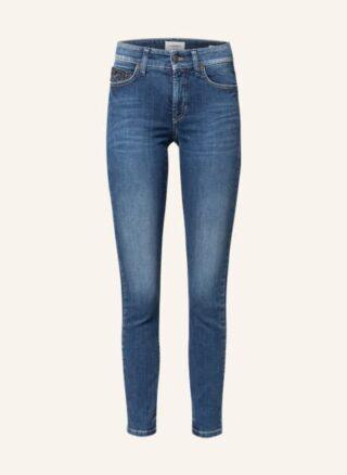 CAMBIO Paris Ancle Cut Slim Fit Jeans Damen, Blau