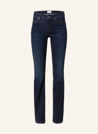 CAMBIO Paris Flared Leg Jeans Damen, Blau
