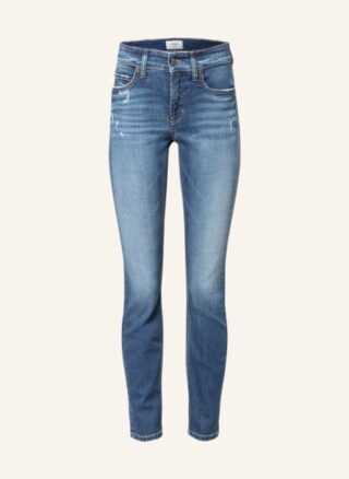 CAMBIO Paris Slim Fit Jeans Damen, Blau