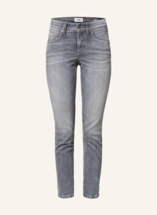 CAMBIO Pina Slim Fit Jeans Damen, Grau