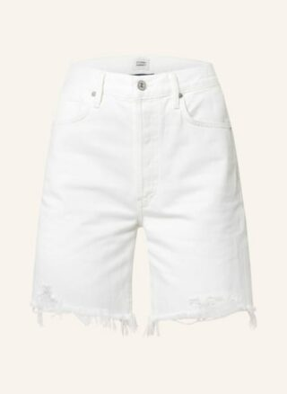 CITIZENS of HUMANITY Camilla Jeans-Shorts Damen, Weiß