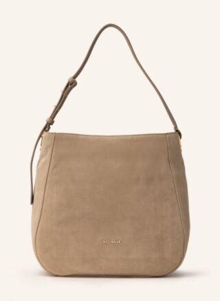 COCCINELLE Medium Hobo-Bag Damen, Beige