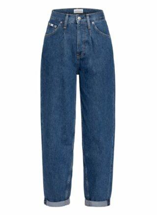Calvin Klein Jeans 7/8-Karottenjeans Damen, Blau